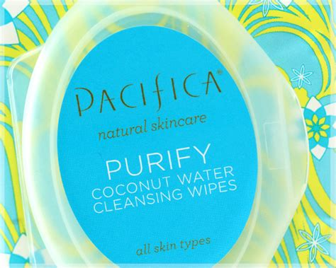Pacifica Detox Wipes by I M Going Coco Nutty For Pacifica S Purify Coconut Water