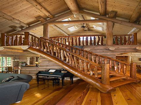Log Cabin Loft by Log Cabin Loft Ladder Log Cabin Loft Stairs Rustic Log