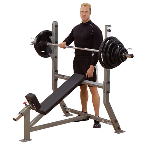 bench press body sib359g incline olympic bench body solid fitness