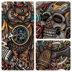 tattoo assassins portable 1000 images about steunk art on pinterest