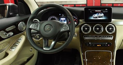 jeep mercedes interior polished mercedes glc300 suv makes impression