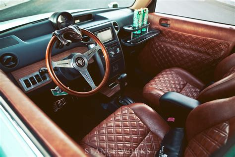 Handmade Interiors - stance works todd s bagged scion