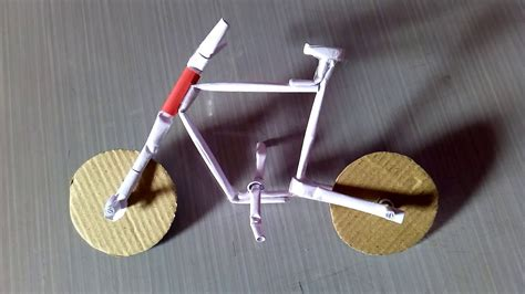 How To Make A Bike Out Of Paper - how to make a paper cycle easy