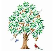 Mango Tree Painting Stencils &gt Floral  Item On