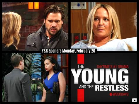 the young and the restless spoilers feb 23 27 2015 phyllis the young and the restless spoilers monday february 26