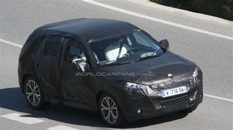peugeot suv 2013 2013 peugeot 2008 citro 235 n b suv spied for the first time