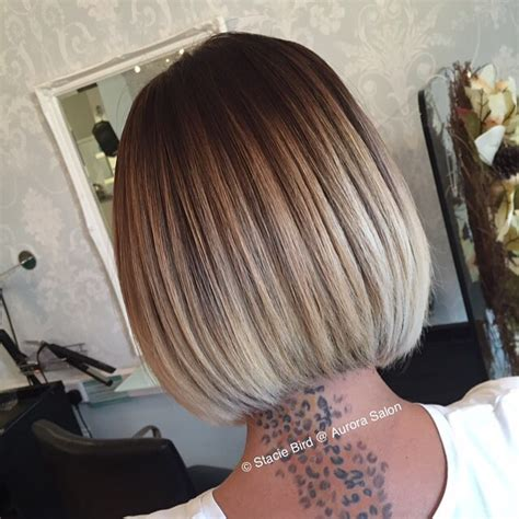 very short bobs with ombre ombre on short and long bob hair 2018