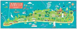 amelia island map of florida amelia island map my