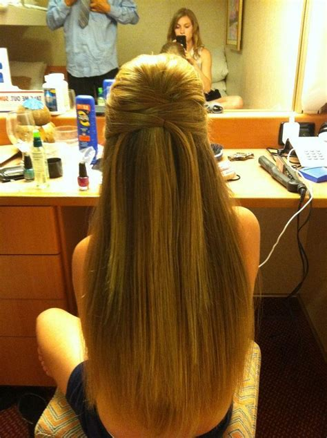 prom hairstyles for long straight hair down 15 collection of long hairstyles down straight