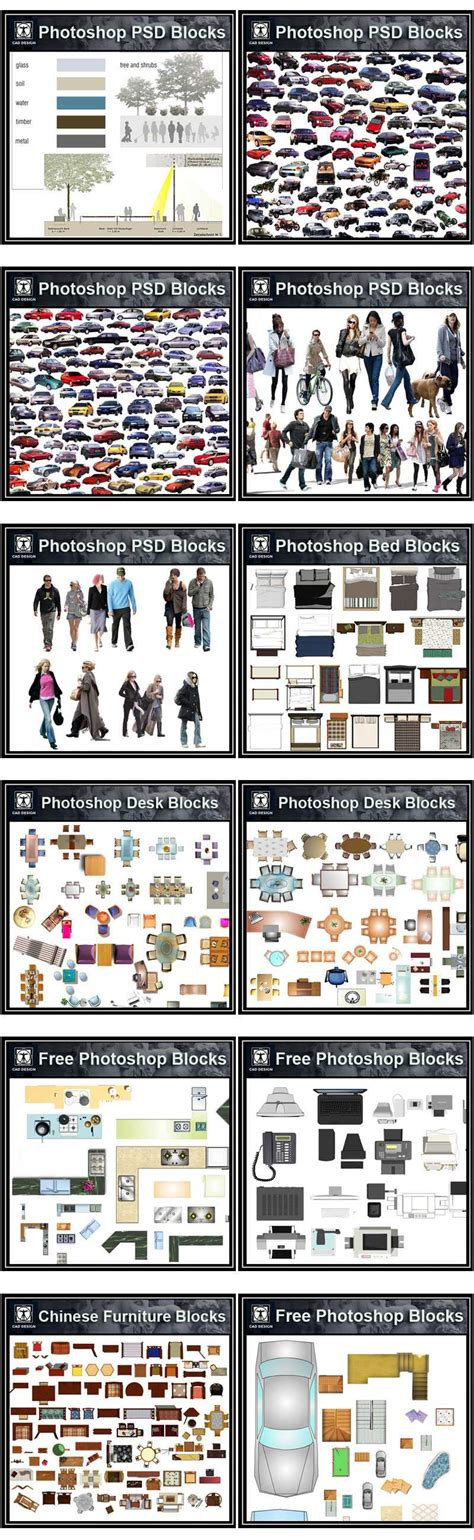Dwg Format Photoshop | photoshop psd blocks bundle high quality dwg files