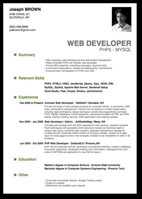 top free resume templates top 10 resume sles best resume gallery