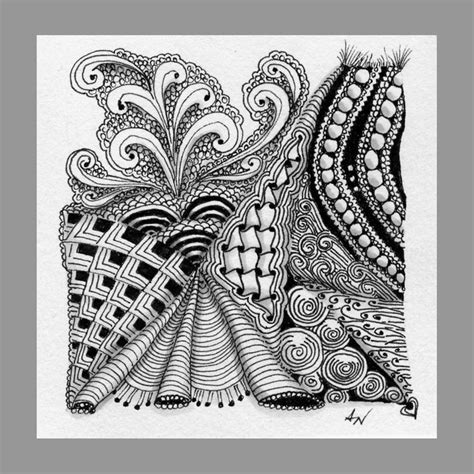 zentangle pattern locar 58 best images about zentangle christmas card ideas on