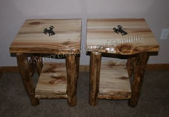 Log End Tables And Coffee Tables Log End Tables Tables Savery Creek Furniture