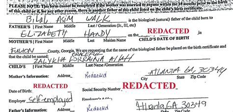 Birth Records Atlanta Ga Aclu Files Suit On Behalf Of Parents Who Want To Name Child Allah