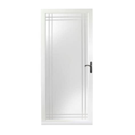 Andersen 3000 Door by Andersen 36 In X 80 In 3000 Series White Right