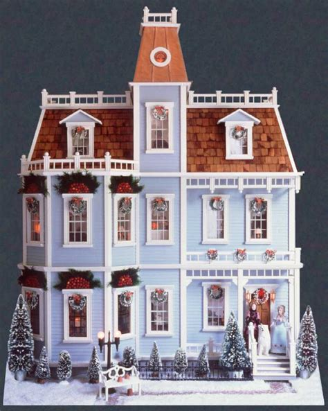 outside doll house the dollhouse winter pictures