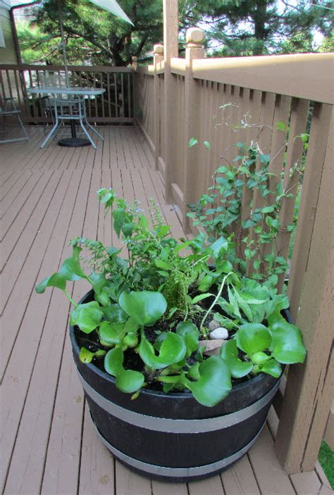 Floating Pond Planter by Make Your Own Floating Island For A Cheap