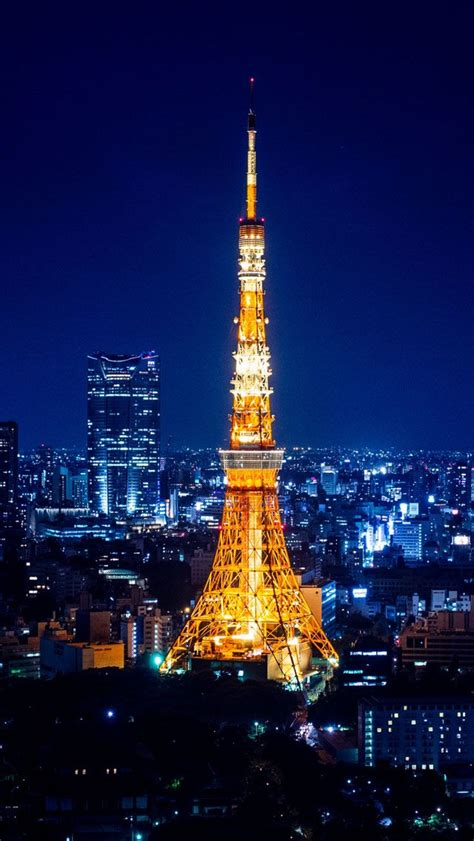 wallpaper for iphone 5 eiffel tower tokyo tower at night iphone 5s wallpaper download