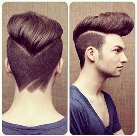 view from back of pompadour hair style 18 cortes de cabello masculinos que son tendencia este