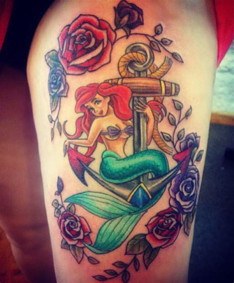 traditional ariel 59 breathtaking mermaid inspired tattoos mermaid tattoos and chest