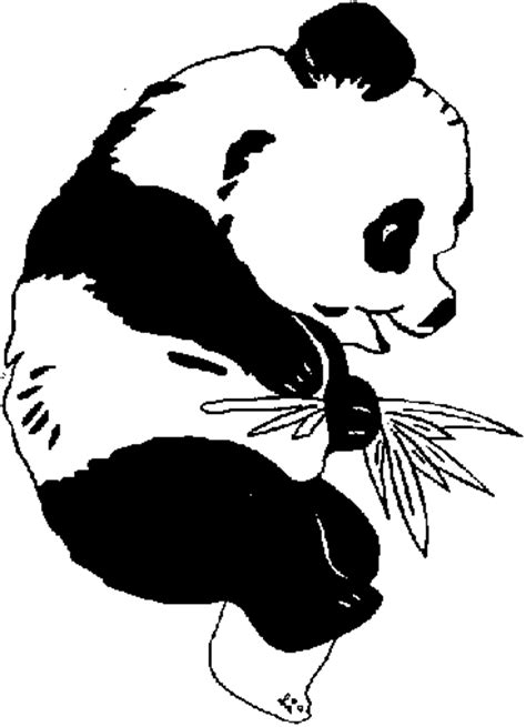 coloring page of giant panda giant panda coloring pages free coloring pages for free
