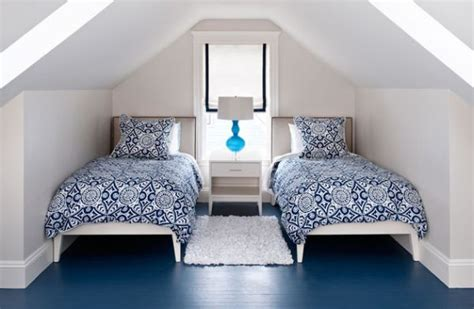 Navy Blue Painted Floor For The Bedroom Pictures, Photos