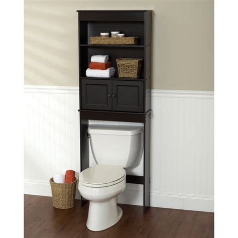 bathroom shelves at walmart espresso space saver walmart com