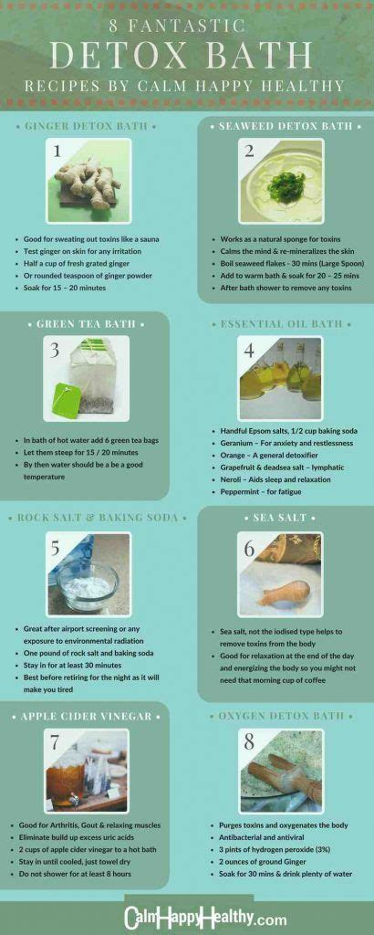 Bentonite Clay Detox Bath Recipe by 25 Best Ideas About Detox Bath Recipe On