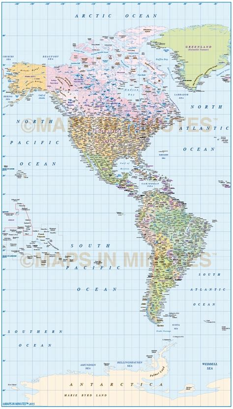 america map scale digital vector and south america political map