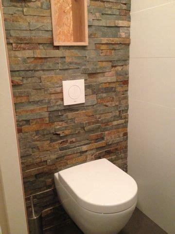 achterwand keuken leisteen achterwand met natuursteen muurstrips toilet idee 235 n