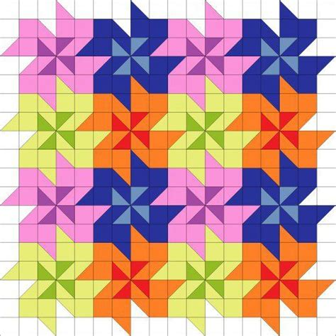 pattern block tessellations exles 17 best images about tessellating quilt patterns on