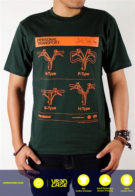 T Shirt Kaos Print Umakuka Idr 20 000 brompton tshirt kaos brompton folding bike tshirt