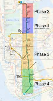 2nd Avenue Subway Map by The Futurenycsubway 2nd Avenue Subway History