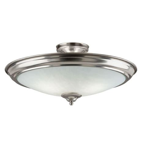 brushed nickel ceiling light fixtures westinghouse 2 light brushed nickel interior ceiling semi