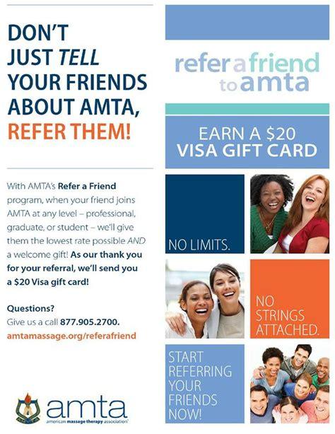 20 Visa Gift Card - pin by amta wisconsin on national amta member benefits pinterest