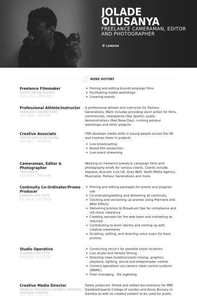 Pinterest The World S Catalogue Of Ideas Filmmaker Resume Template