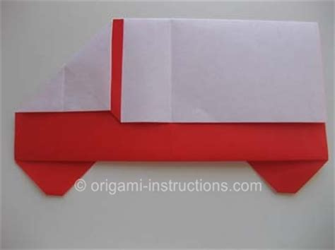 how to make an origami truck origami truck folding how to make an