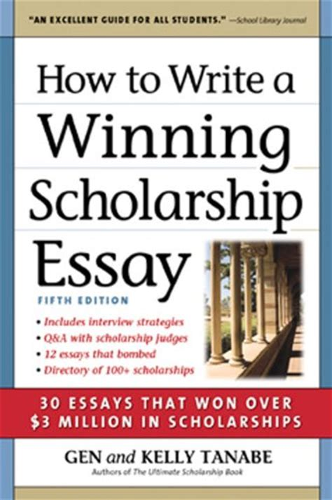 Winning Scholarship Essays Exles by Musely