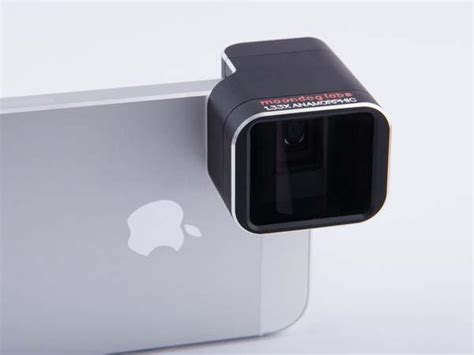 anamorphic lens  iphone  gadgetsin