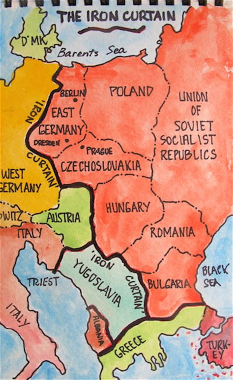who first used the phrase iron curtain northern germany encountering the past in communist