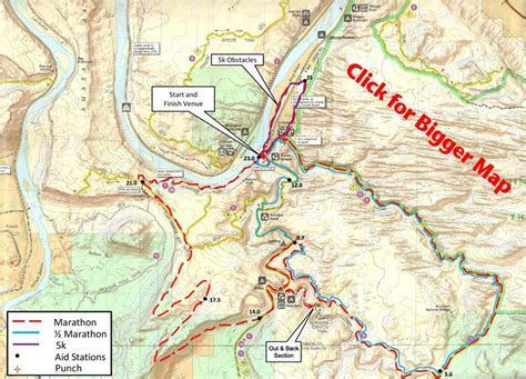 moab jeep trails map moab trail marathon moab utah 5k trail run half