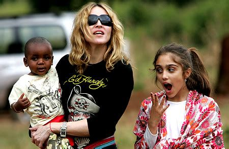 Madonna Might Adopt Another Baby by Madonna S Birthday Present Another Niglet