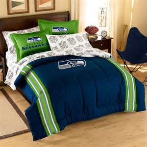 seattle seahawks 7 piece full size bedding set