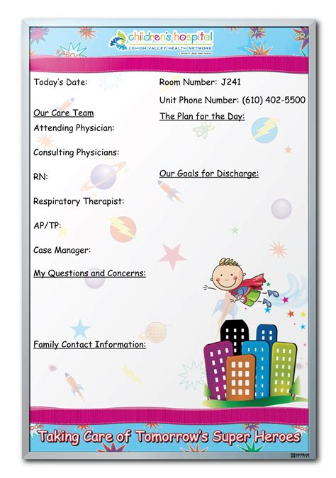 whiteboard for room patient room communication custom erase whiteboards