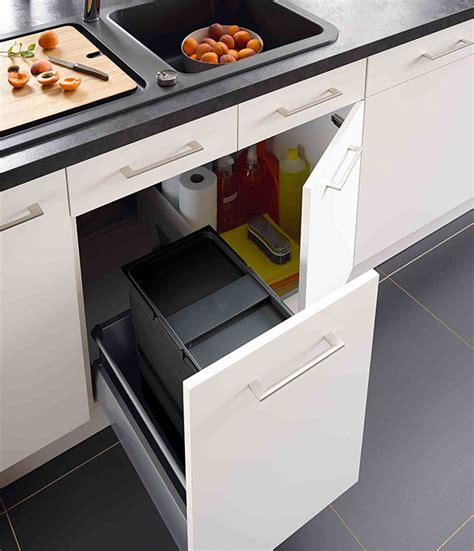 poubelles sous evier meuble de cuisine 5 meubles poubelles pratiques et