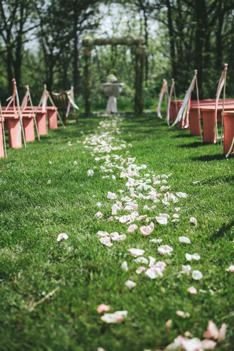 Wedding Aisle Runner Decorations by Outdoor Wedding Ceremony Aisle Decorations Floral Aisle Runner