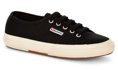 superga shoes superga 2750 cotu classic black trainers offical superga