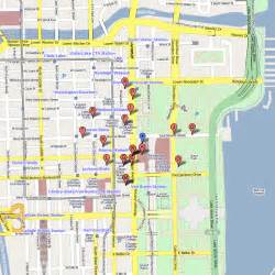 Chicago Loop Map Printable by Map Of Downtown Chicago Loop Pictures To Pin On Pinterest