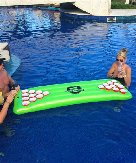 floating pong table