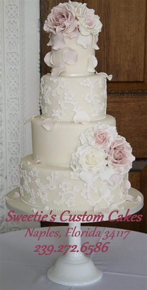 Wedding Cakes Naples Fl by Sweetie S Custom Cakes Photos Wedding Cake Pictures